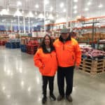 Ralph and me in our Costco jackets