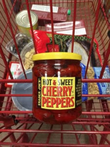hot and sweet cherry peppers