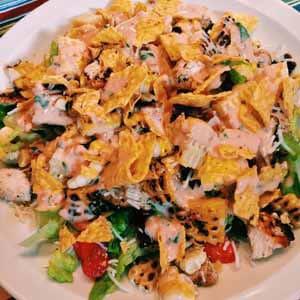 chicken taco salad