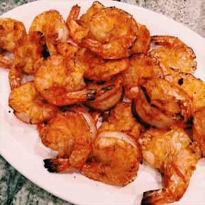 cajun style broiled shrimp