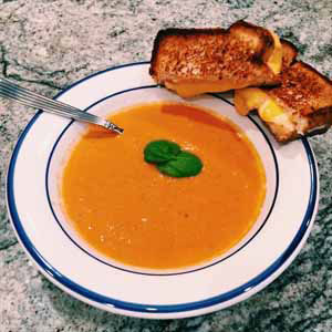 homemade cream of tomato soup