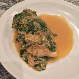 creamed spinach chicken