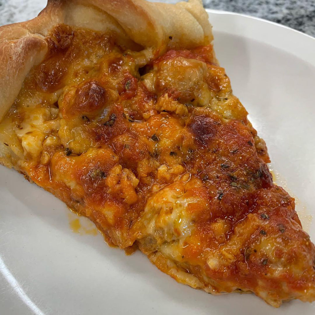 skillet deep dish pizza