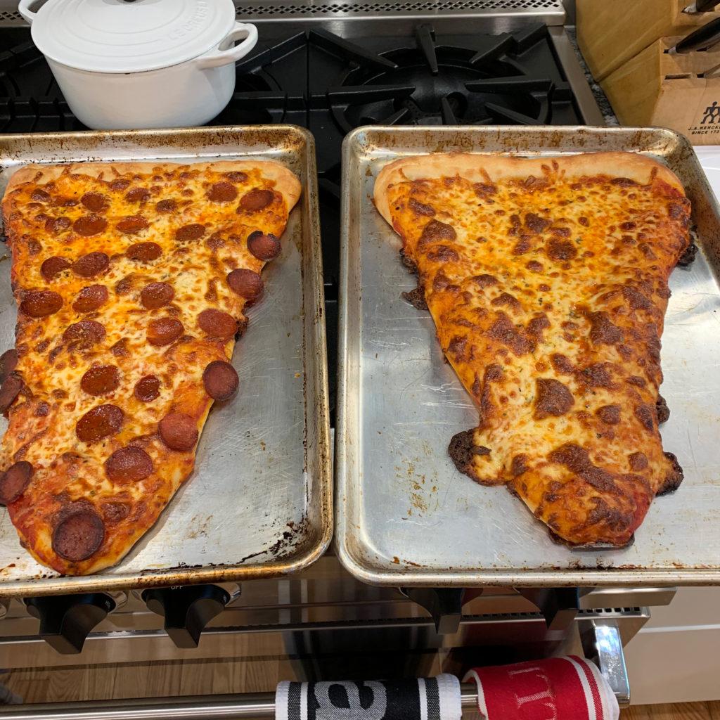 giant pizza slices
