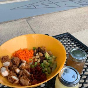 houstons chicken club salad